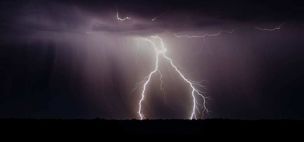 how to be struck by lightning